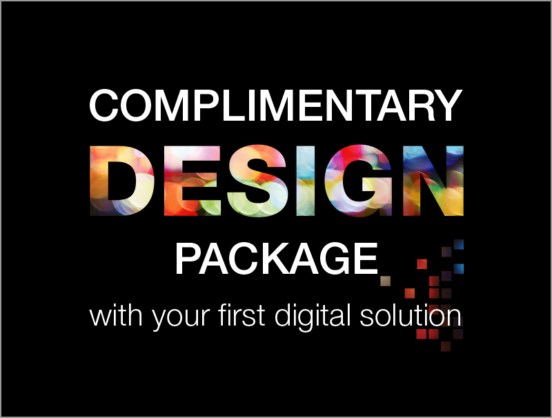 CV Media complementary design package