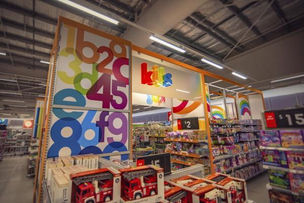 Kmart Internal Signage