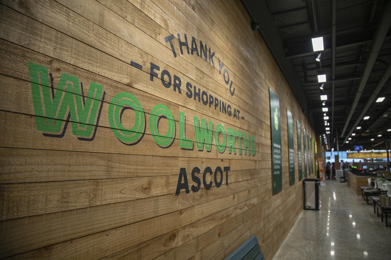 Woolworths Interior Signage Internal Signage